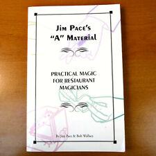 Jim Pace A Material Restaurant Magicians