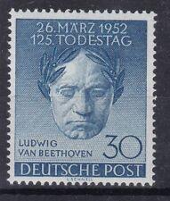 Berlin Mi.Nr. 87 postfrisch,  Beethovenmaske 1952