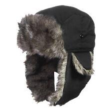 Men Winter Trapper Aviator Trooper Earflap Warm Russian Waterproof Ski Hat UK