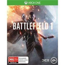 Battlefield 1 with Preorder Bonus (Xbox One, 2016)