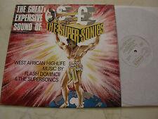 THE SUPERSONICS FLASH DOMINCII *ORIGINAL UK SHADE LABEL 1968*NM*AFROBEAT*