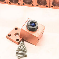 Rose-copper Laser Host for 9mm TO5 515nm-532nm Laser Diode w/ Green optical lens