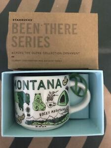 Starbucks 2oz Demi Tasse MONTANA BEEN THERE mug Ornament Cup Mini Mug