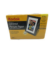 Kodak Ultima Picture Paper for Inkjet Prints 4x6, 20 Sheets never opened