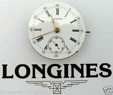 LONGINES TASCHENUHR - UHRWERK UND ZIFFERBLATT - um 1900