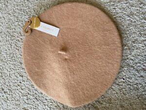 Acessorize 100% Wool Beige Beret, BNWT