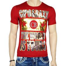 CIPO & BAXX T-Shirt kurzarm rundhals Al Pacino Pate Hollywood Star Party 5407