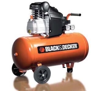 Black & Decker Kompressor 50L BD205/50 (Handelsretoure)