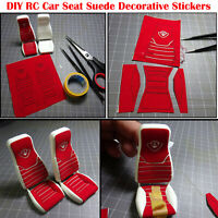 1/14 Scania RC Car DIY Seat Suede Decorative Stickers Truck Cab Seat Upholstery