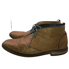 Johnston & Murphy Mens 10.5 Beige Soft Leather Lace Up Chukkas Ankle Boots Shoes