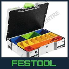 Genuine Festool 497694 Systainer T-LOC SYS 1 Organiser Box With 13 Inserts