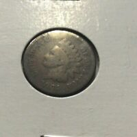 1864 Indian Head Penny One Cent Collectors Coin Exact Coin Shown Pointed Bust