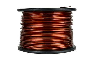TEMCo Magnet Wire 10 AWG Gauge Enameled Copper 10lb 315ft 200C Coil Winding