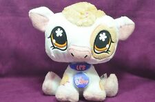 Littlest Pet Shop VIP Virtual Interactive Pet Plush Figure Cow 2008