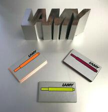 Lamy Tintenpatronen T 10 limitierte Editionen neongelb gelb bronze vibrant pink