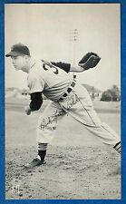 J.D. McCarthy DICK LITTLEFIELD post card (Detroit Tigers) ex+