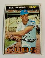 1967 Lee Thomas # 458 Chicago Cubs Topps Baseball Card