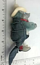 "Vintage   Armadillo Dressed Texas ""Hat"" Ornament Souvenir Pencil hugger"