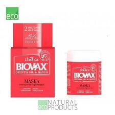 L'biotica Biovax Natural Hair Mask Mango Opunita Oil 250ml