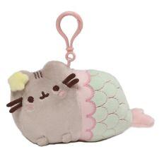 Gund 4059998 Pusheen the Cat Mermaid Key Clip