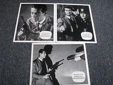 AF-Aushangfotos-Jerry Cotton-Fall Nr.1-Schüsse aus dem Geigenkasten-3 Stück