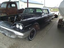 58 Ford Thunderbird project