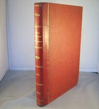 JOURNAL DES SOIREES DE FAMILLE / RELIURE 1/2 CUIR 1861 / GRAVURES MODE BRODERIE
