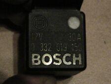 Relais Bosch Noir 12V 30A
