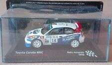 "DIE CAST "" TOYOTA COROLLA WRC RALLY ACROPOLIS - 1998 "" SCALA 1/43"