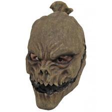 Scarecrow Darkscare Latex Head Mask Fancy Dress Horror Adult