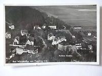 Ansichtskarte Bad Wörishofen vom Flugzeug aus Kurhaus Sanitas 1937  (Nr.603)