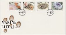 Unaddressed Jersey FDC First Day Cover 1994 Marine Life II Set 10% off 5