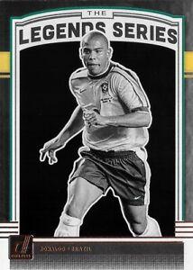 2018-19 DONRUSS SOCCER Ronaldo Brazil The Legends Series Silver Rare Insert LS-6