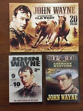Legend of the Old West - John Wayne - 20 Films in 2 DVD Set - NEW Factory Sealed