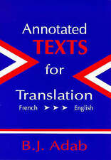 Annotated Texts for Translation (Op)( French-English) (Multilingual-ExLibrary