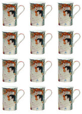 Heath McCabe Gustav Klimt's Mother and Child 12 Mug Set
