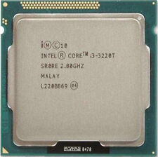 Intel Core i3-3220T 2.80GHz 2 Cores 4 Threads LGA1155 SR0RE Tested