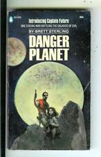 DANGER PLANET by Sterling, Pop Lib #2335 Capt Future SF pulp vintage pb FRAZETTA