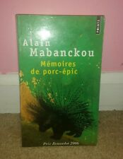 Memoires De Porc-epic by Alain Mabanckou (2006, Book)