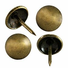 decotacks Upholstery Tacks for Furniture, Antique Brass, French Natural