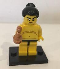 Lego Minifigura Serie 3 Luchador De Sumo * completo *
