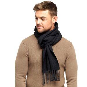 Mens Warm, Super Soft and Cosy Herringbone Scarf
