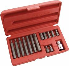 """LOOK"" Brand New 15pc HEX BIT SET HEXAGON ALLAN ALLEN MOULDED CASE UK STOCK"