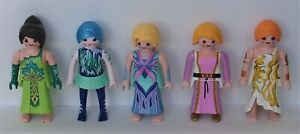 Playmobil Magic   5 x Assorted Fairies    Good Condition