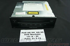 ORIG. VW Touareg 7p audi a8 4h DVD cambiador mp3 CD DVD changer 4h0035108a