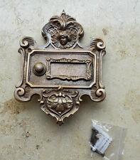 Geschenknet Antik Messing Klingel 1 Klingelschild Klingelplatte  K41A