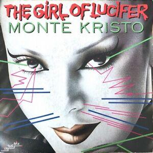 """Monte Kristo - The Girl Of Lucifer - Vinyl 7"""" 45T (Single)"""