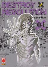 DESTROY AND REVOLUTION - Numero 4 - Planet Manga - Panini Comics - NUOVO