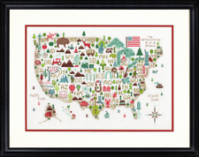 Dimensions - Counted Cross Stitch Kit - Illustrated USA - America - D70-35360