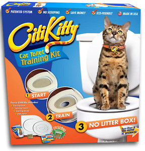 CITYKITTY CAT TRAINING KIT no waste of money to buy cat litter